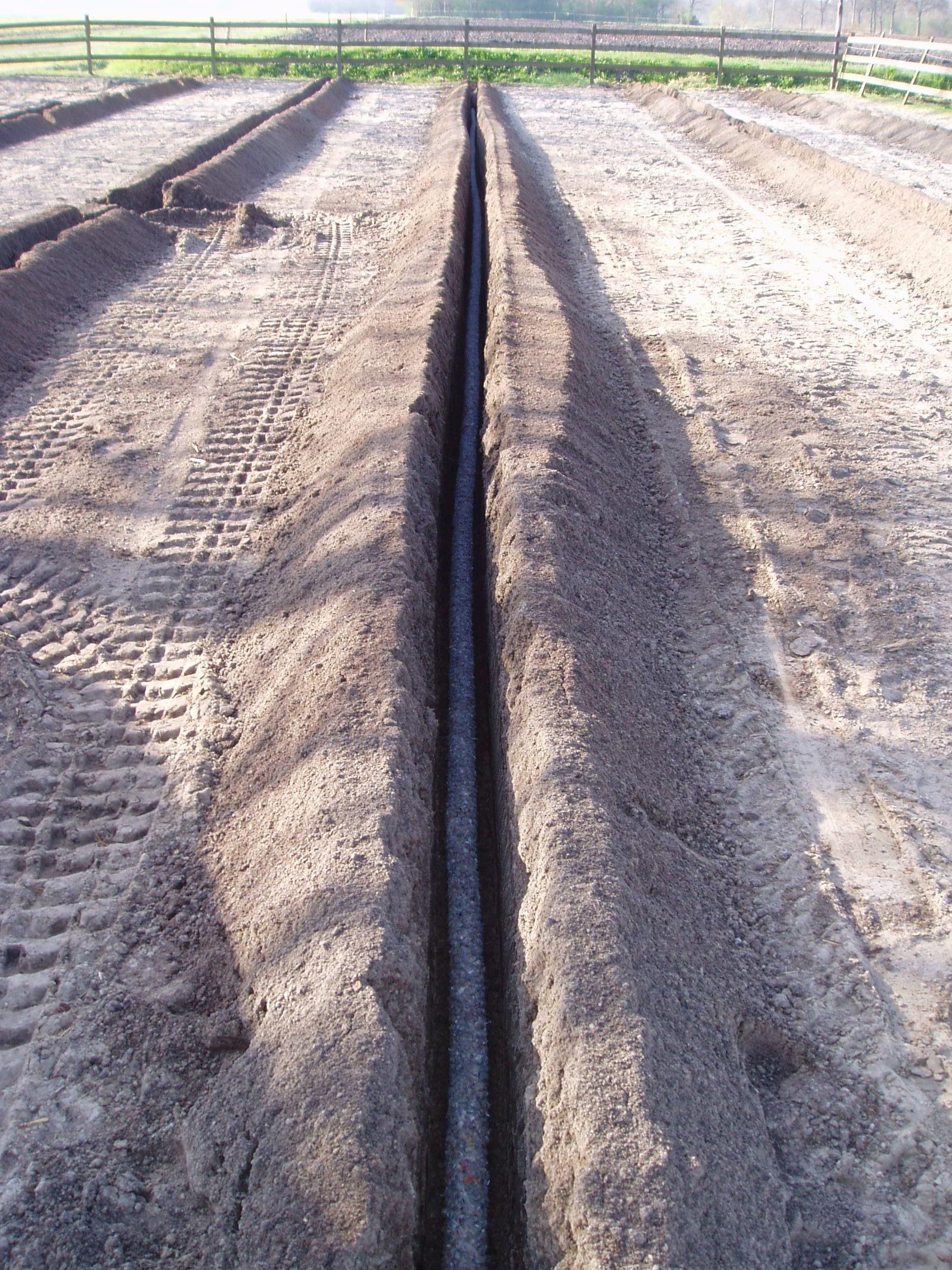 drainage zand